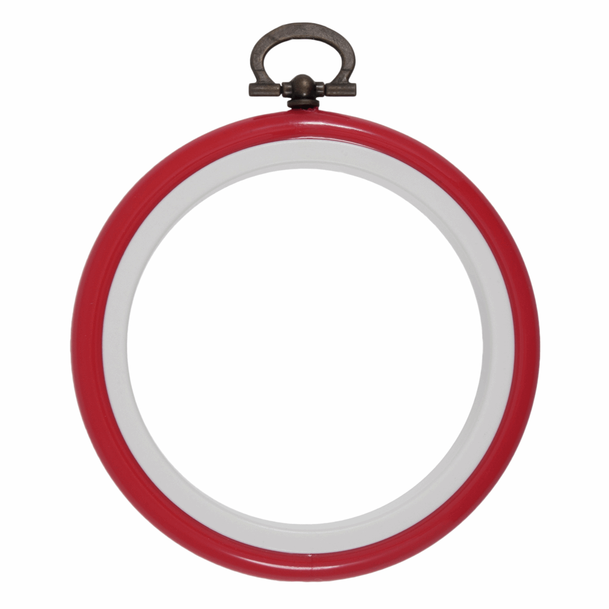 Picture of Hoop: Flexi: Round: 7.6cm/3in: Red