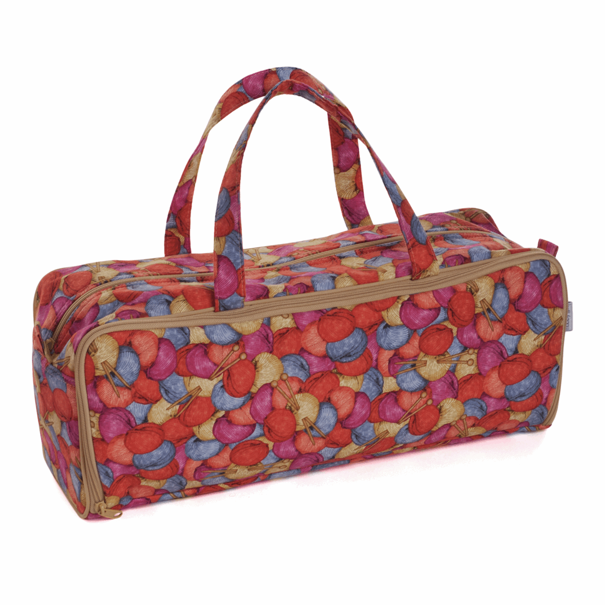 Picture of Knitting Bag with Pin Case: Knit 'n' Purl