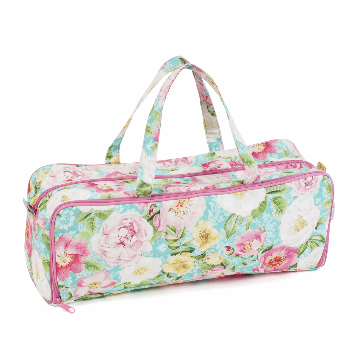 Picture of Knitting Bag with Pin Case: Rose Blossom