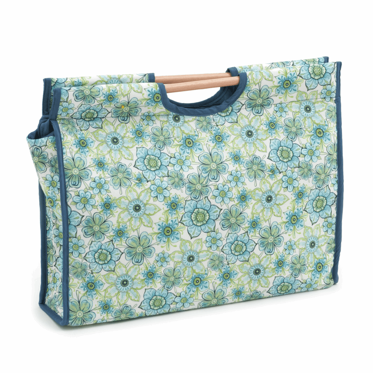 Picture of S&W Collection: Craft Bag with Wooden Handles: Lydia