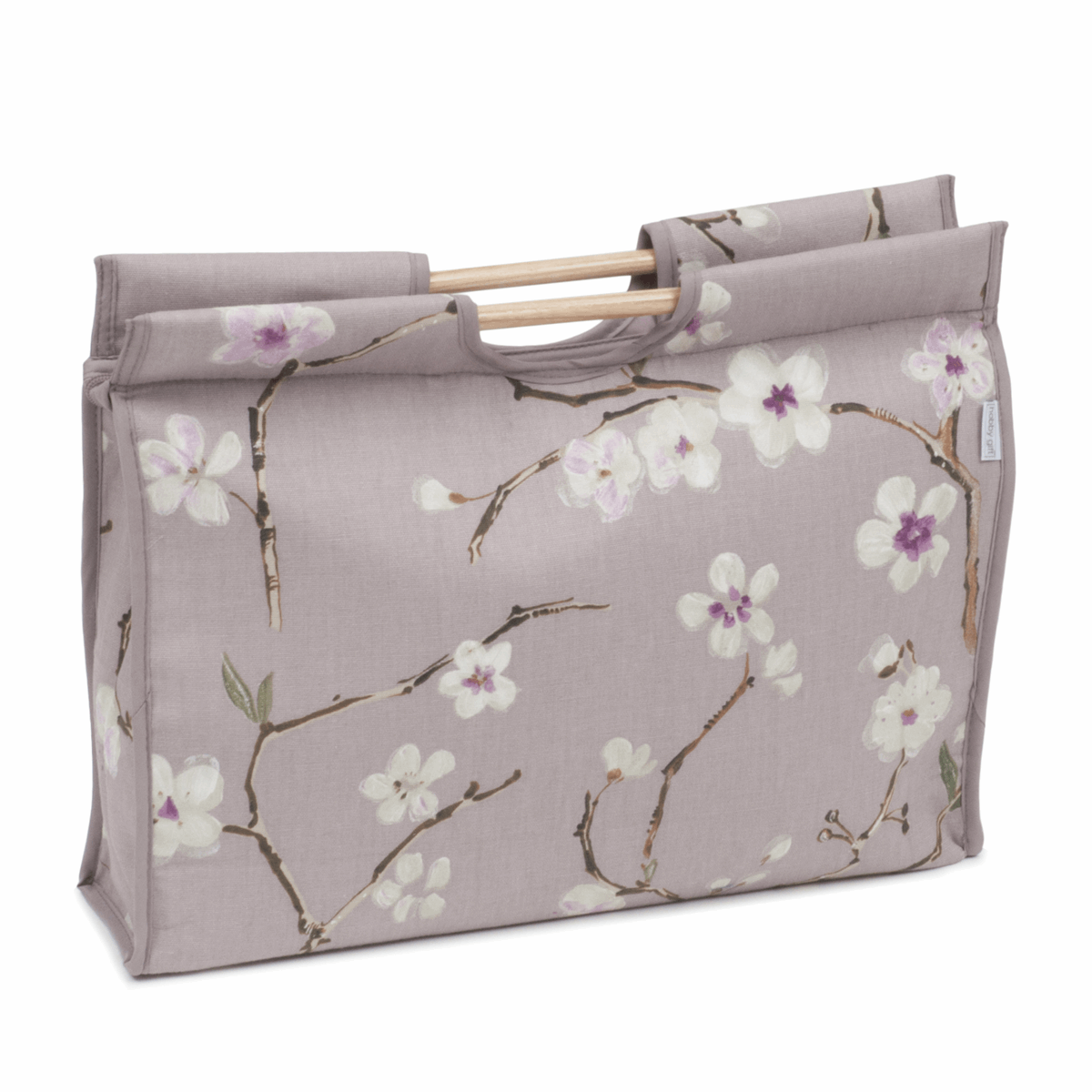 Picture of Craft Bag with Wooden Handles: Blossom
