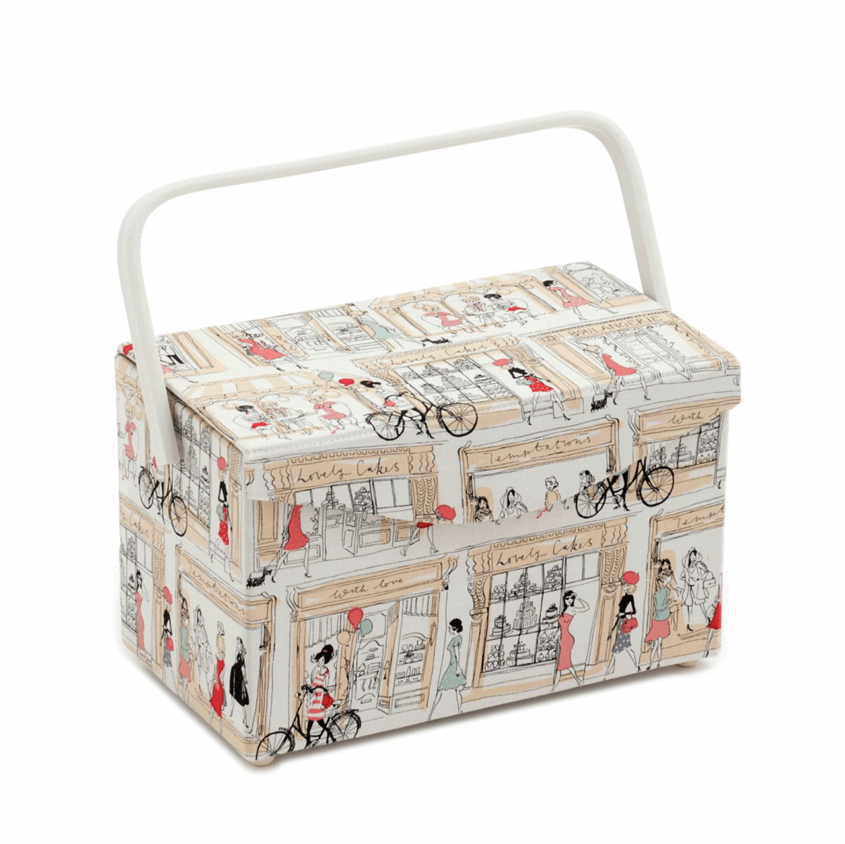 Picture of S&W Collection: Sewing Box - Fold Over Lid: Boulevard
