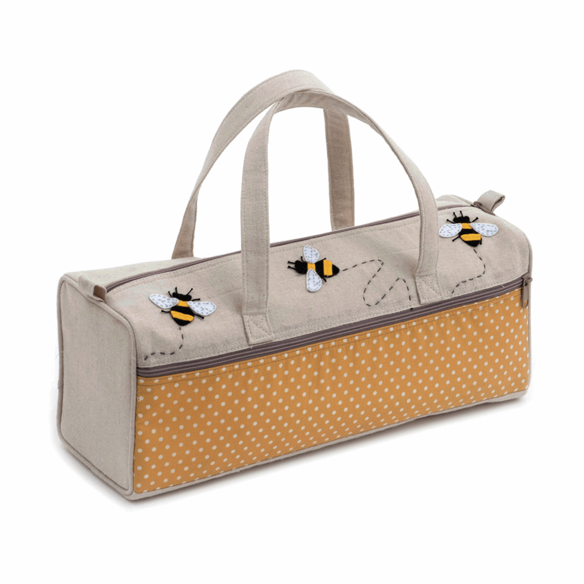 Picture of Knitting Bag: Appliqué: Bee
