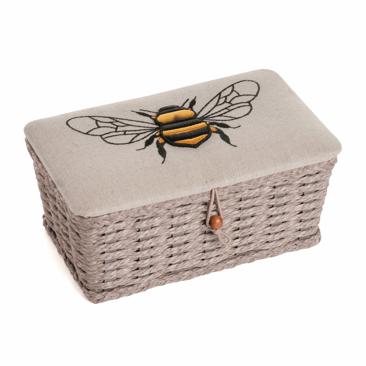 Picture of Sewing Box (S): Woven Basket: Linen Bee