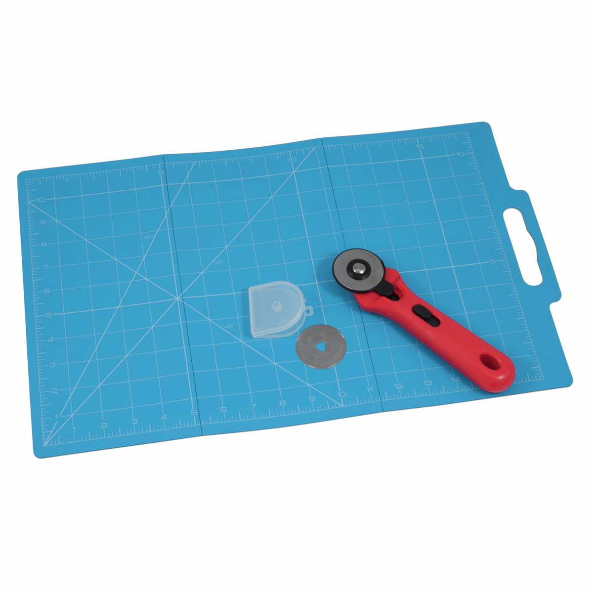 Picture of Folding Mat (30 x 45cm) with Rotary Cutter (45mm)