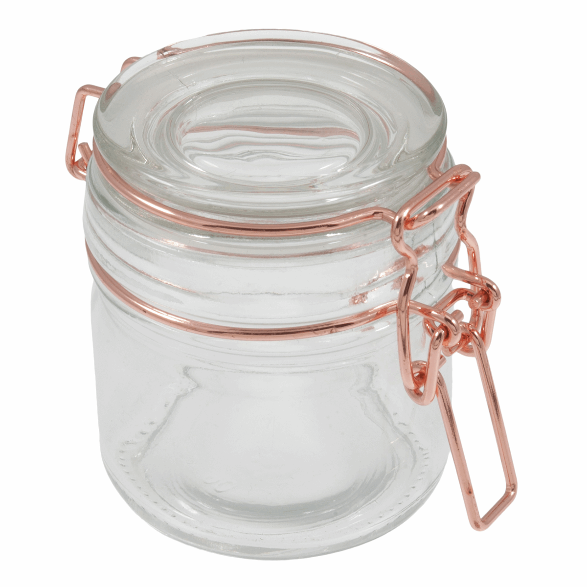 Picture of Jars: Glass: 110ml: Rose Gold: Pack of 12