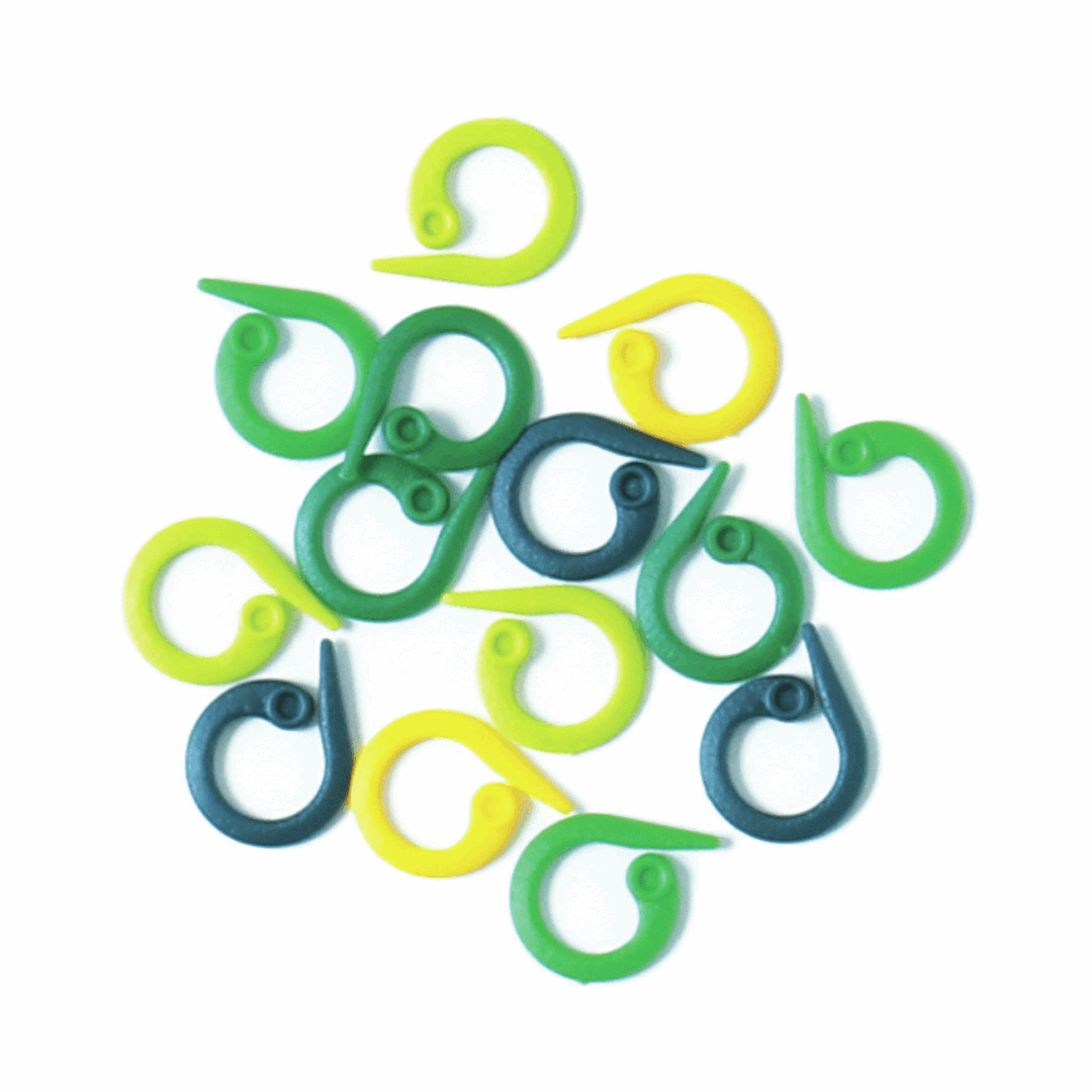 Picture of Split Ring Markers: Plastic: 30 Pieces