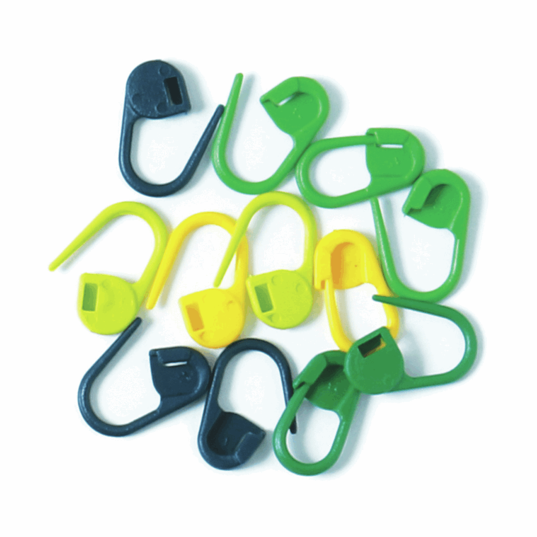 Picture of Locking Stitch Markers: Plastic: 30 Pieces