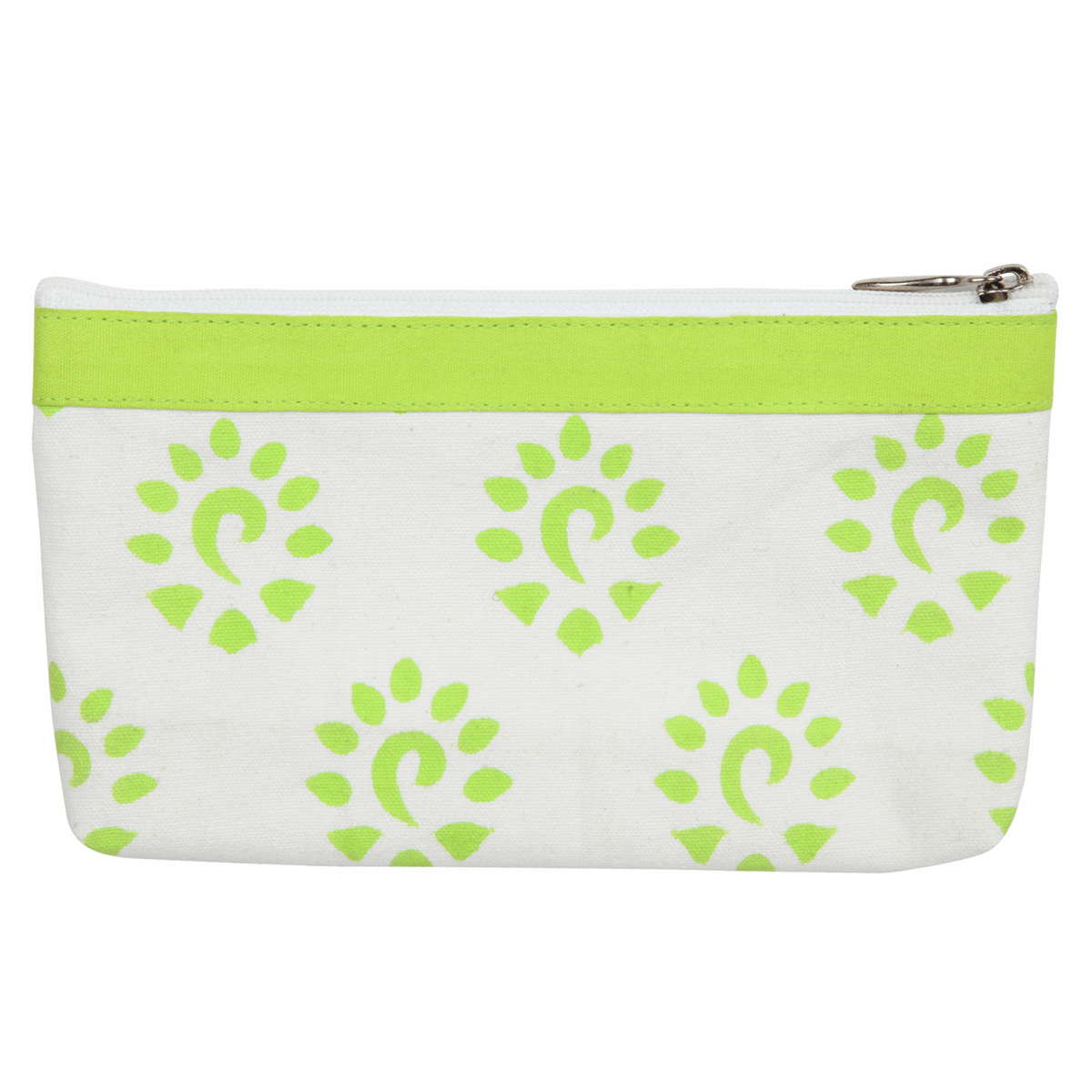 Picture of Amber: Fabric & Vinyl Zipped Pouch: Small