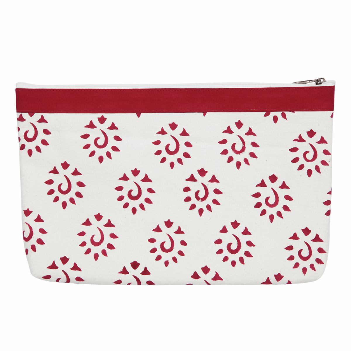 Picture of Amber: Fabric & Vinyl Zipped Pouch: Large