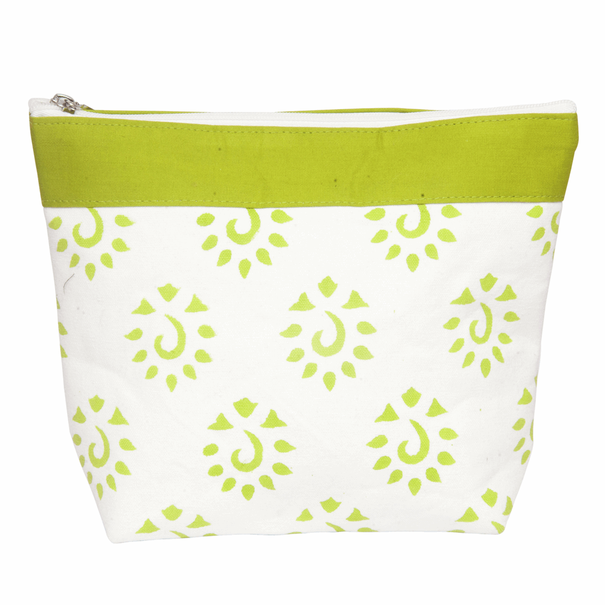 Picture of Amber: Zippered Pouch: Large: Neon Green