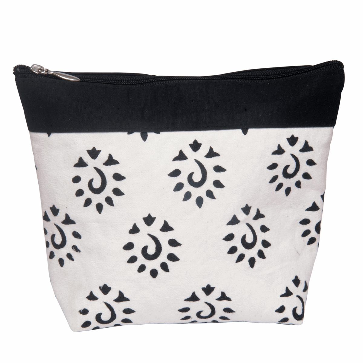 Picture of Amber: Zippered Pouch: Large: Black