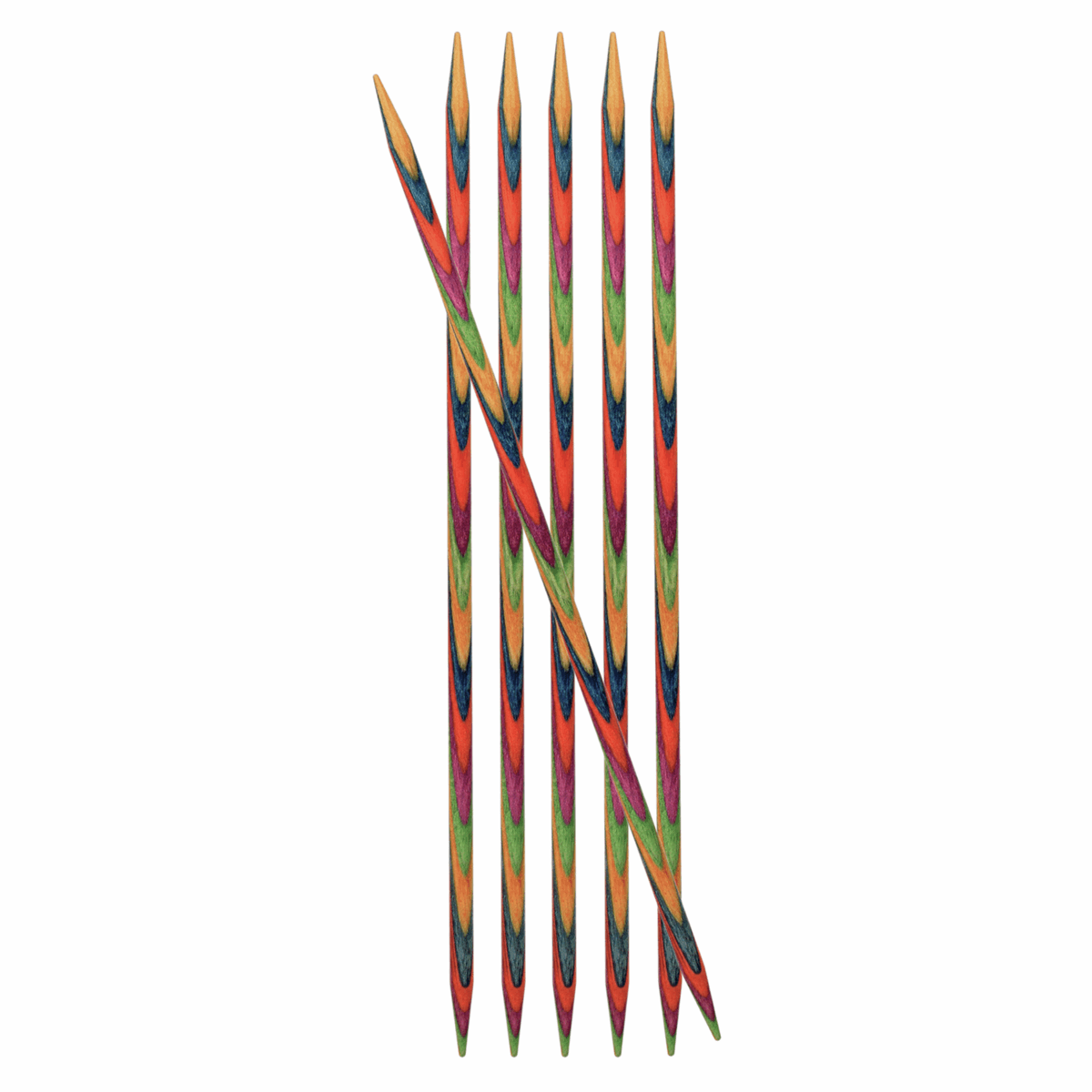 Picture of Symfonie: Knitting Pins: Double-Ended: Set of 6: 15cm x 2.50mm