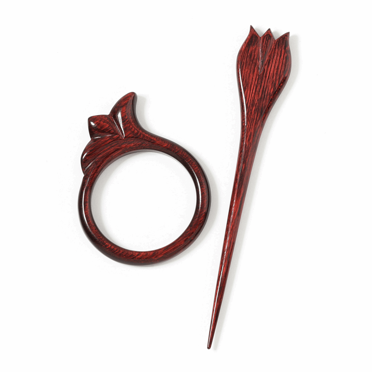 Picture of Symfonie: Flora: Shawl Pin: Tulip