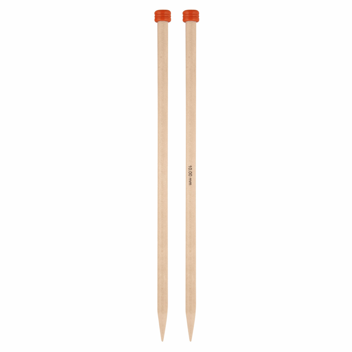 Picture of Basix Birch: Knitting Pins: Single-Ended: 25cm x 10.00mm