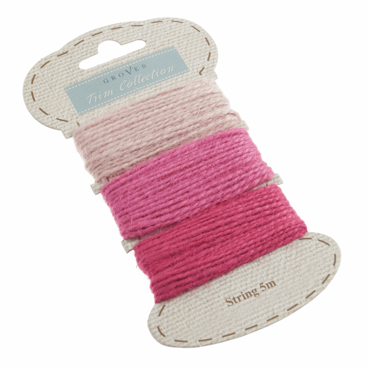 Picture of Jute String: 5m per Colour: Pink