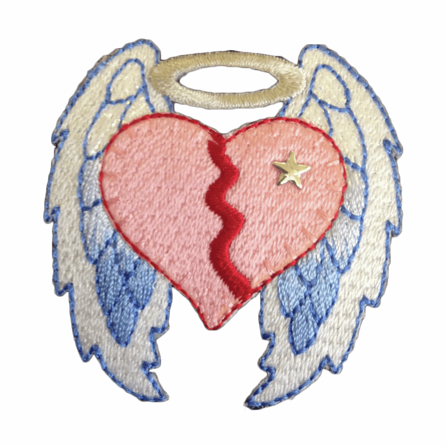 Picture of Motif: Heart with Wings: Large format card