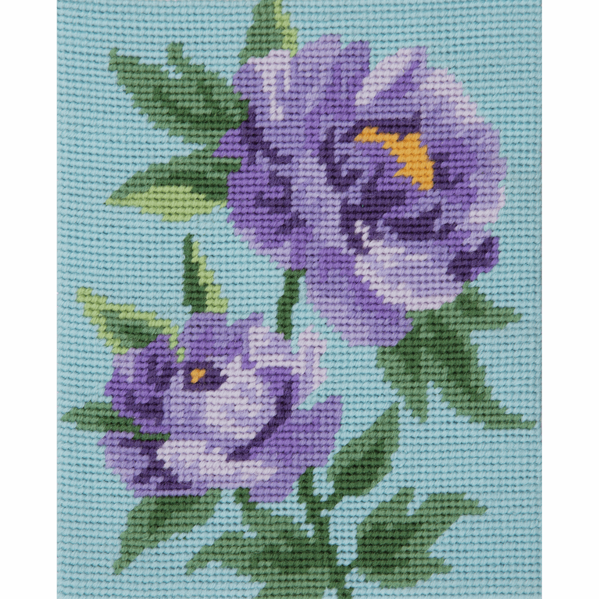 Picture of Tapestry Kit: Starter: Purple Peonies