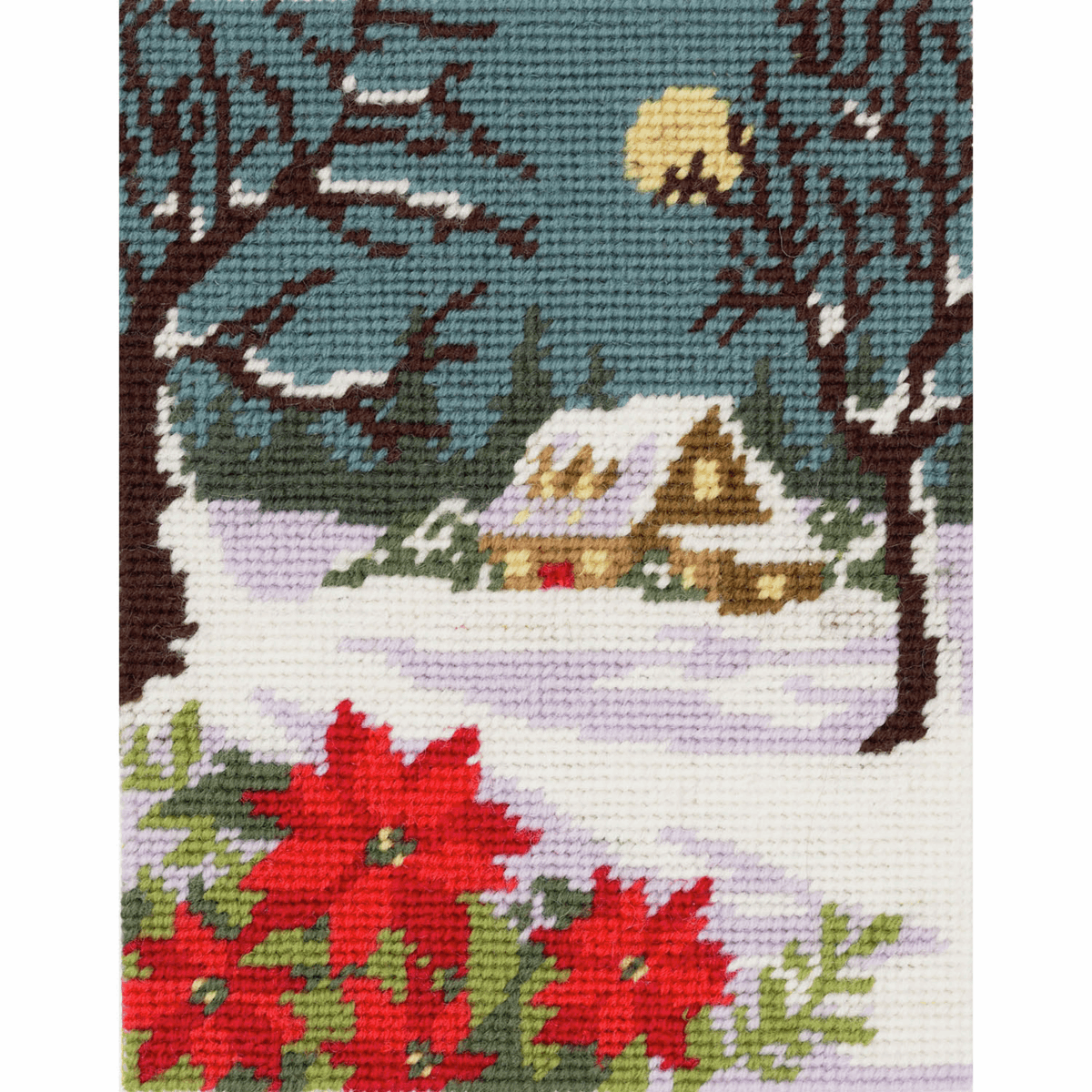 Picture of Tapestry Kit: Winter Cottage