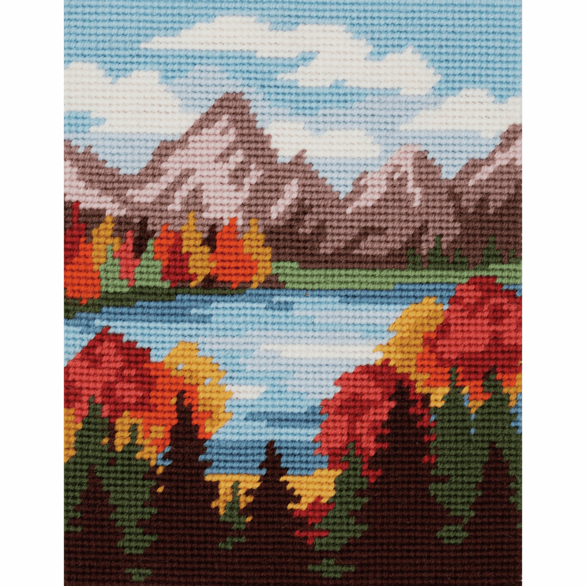 Picture of Tapestry Kit: Autumn Mountains