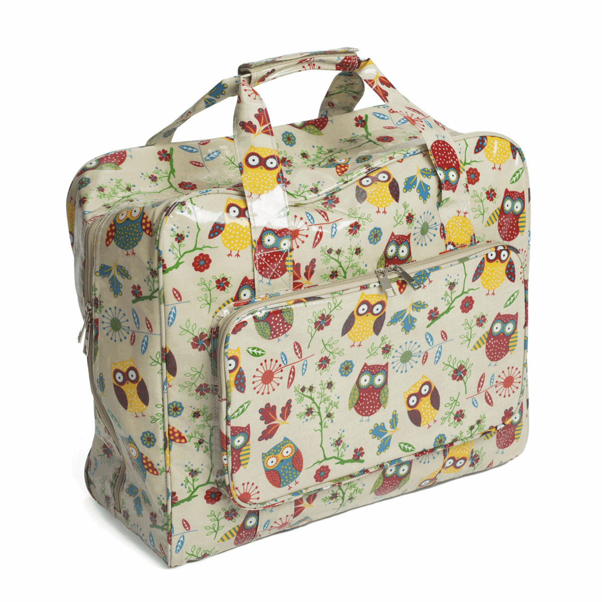 Picture of Sewing Machine Bag: Glossy PVC: Owl