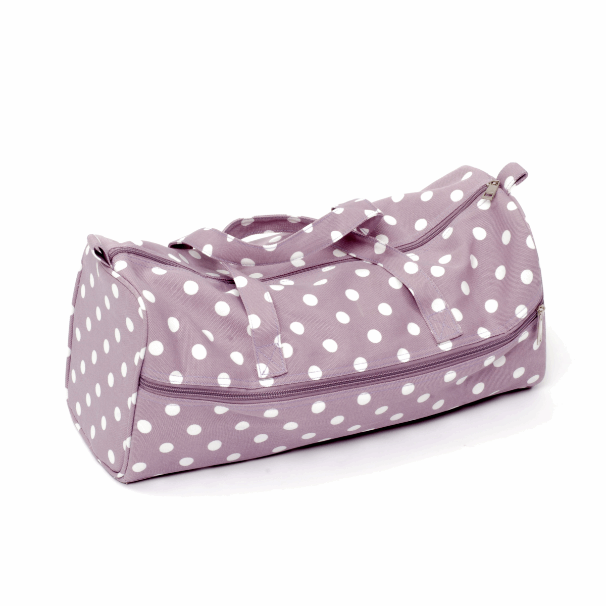 Picture of Knitting Bag: Mauve Spot: Pack of 3