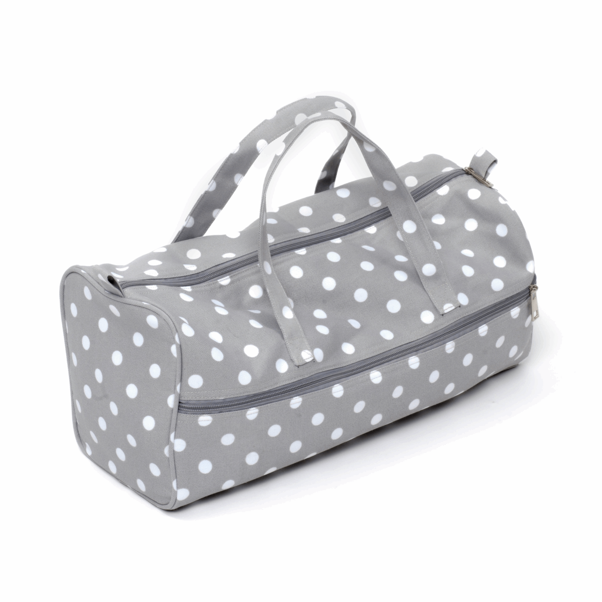 Picture of Knitting Bag: Grey Spot: Pack of 3