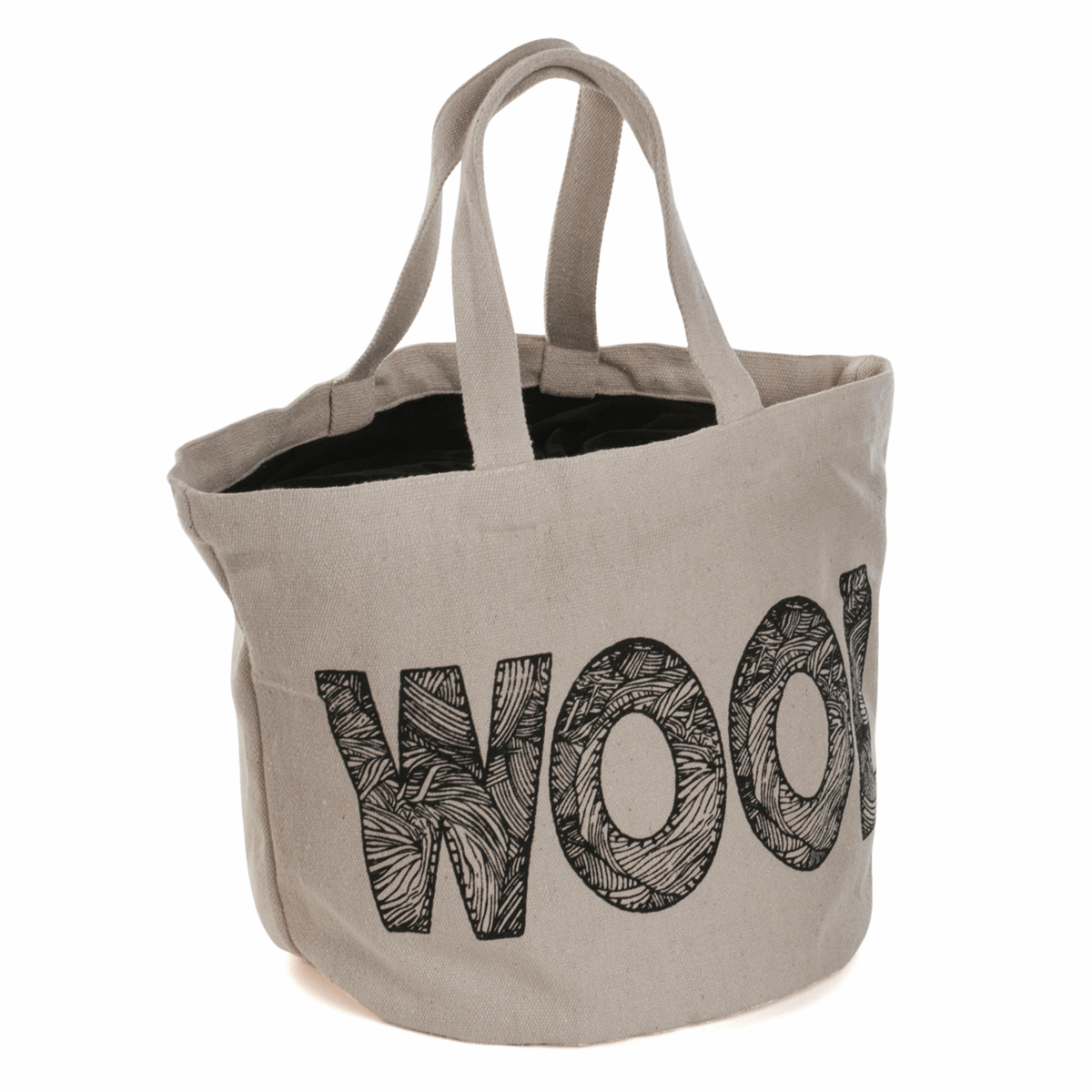 Picture of Bucket Bag: 'Wool' Logo