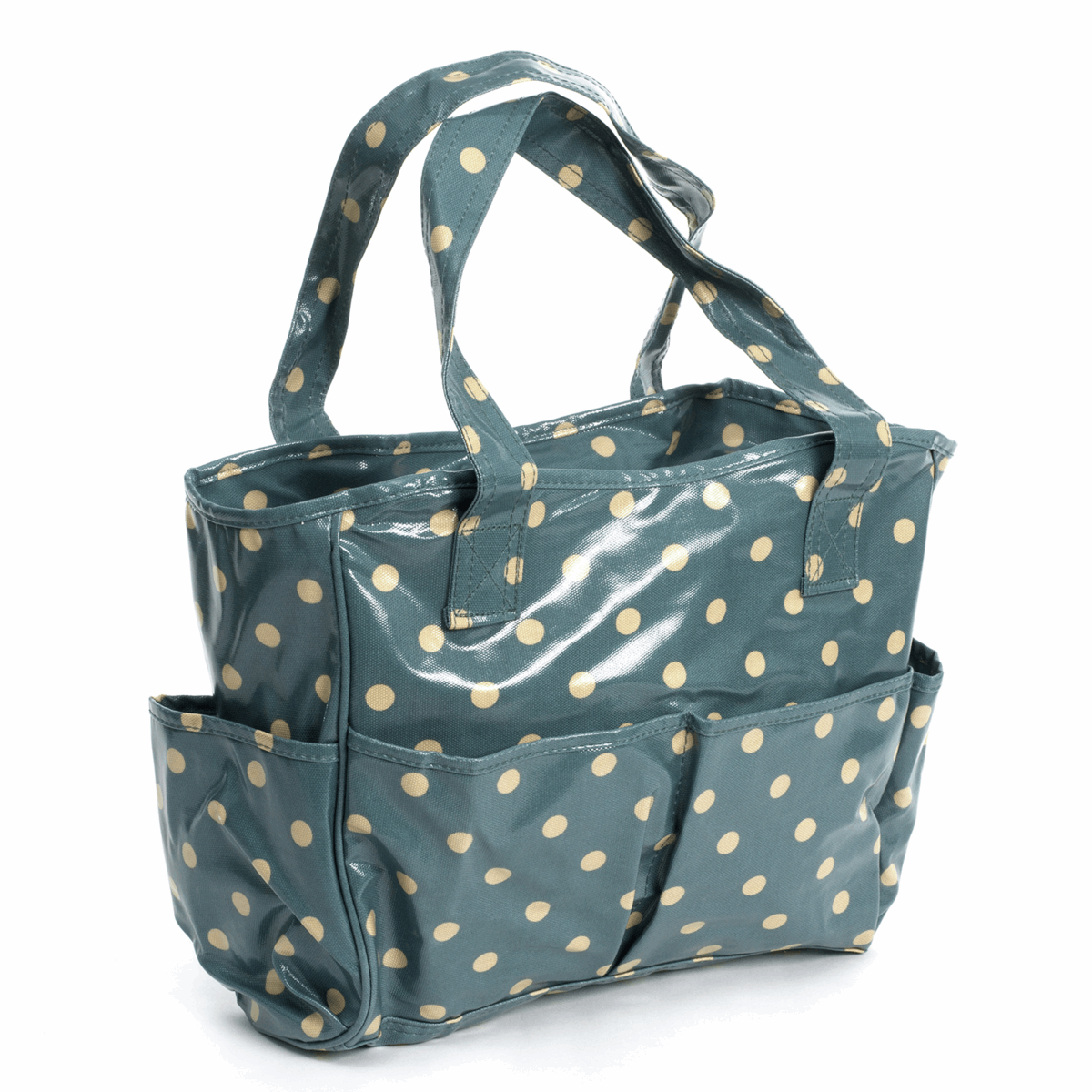 Picture of Craft Bag: Glossy PVC: Blue Spot