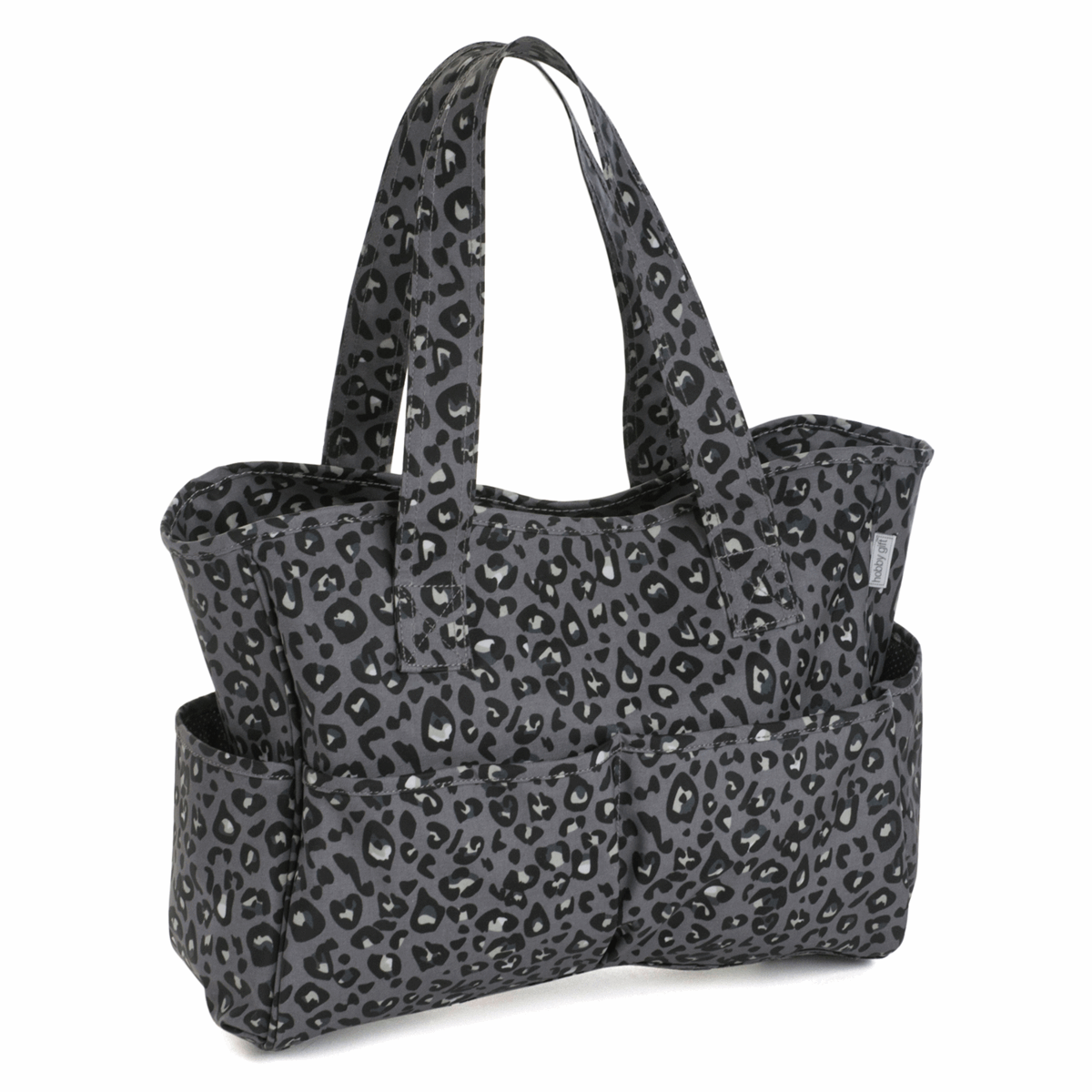 Picture of Craft Bag: Matt PVC: Leopard
