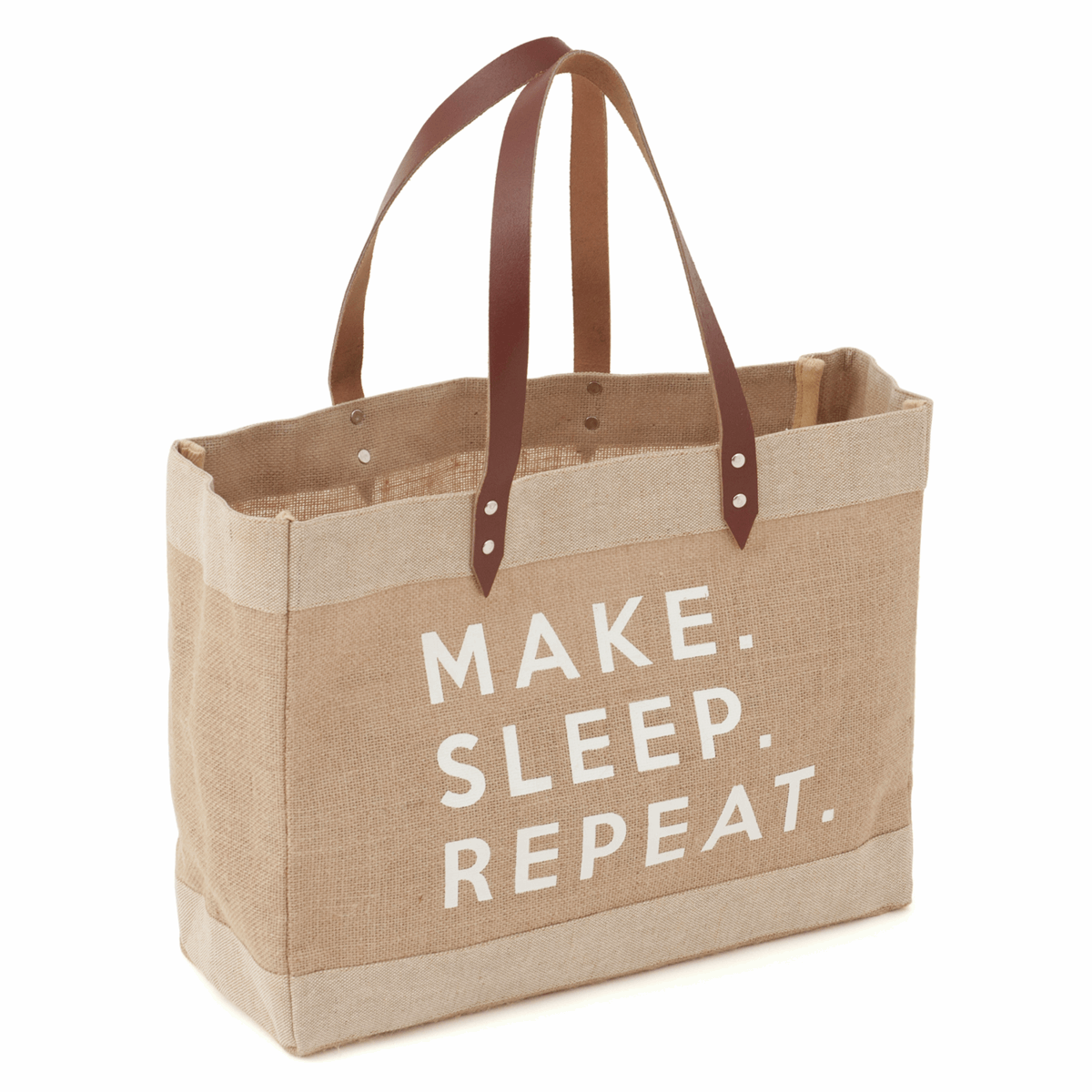 Picture of Craft Tote (L): Make Sleep Repeat