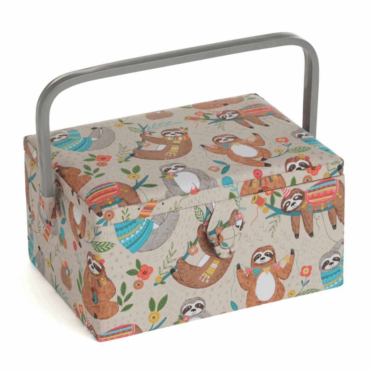 Picture of Sewing Box (M): Sloth