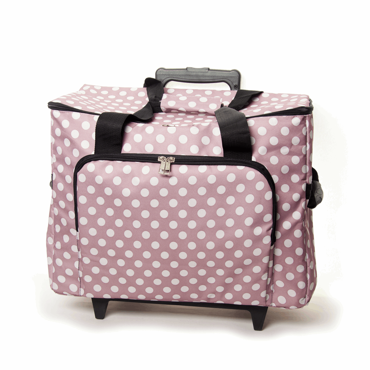 Picture of Sewing Machine Trolley Bag: Mauve Spot