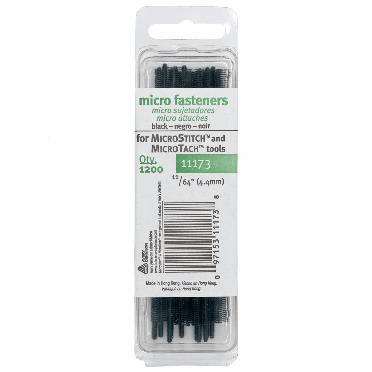 Picture of MicroStitch Fastener Refill - Black