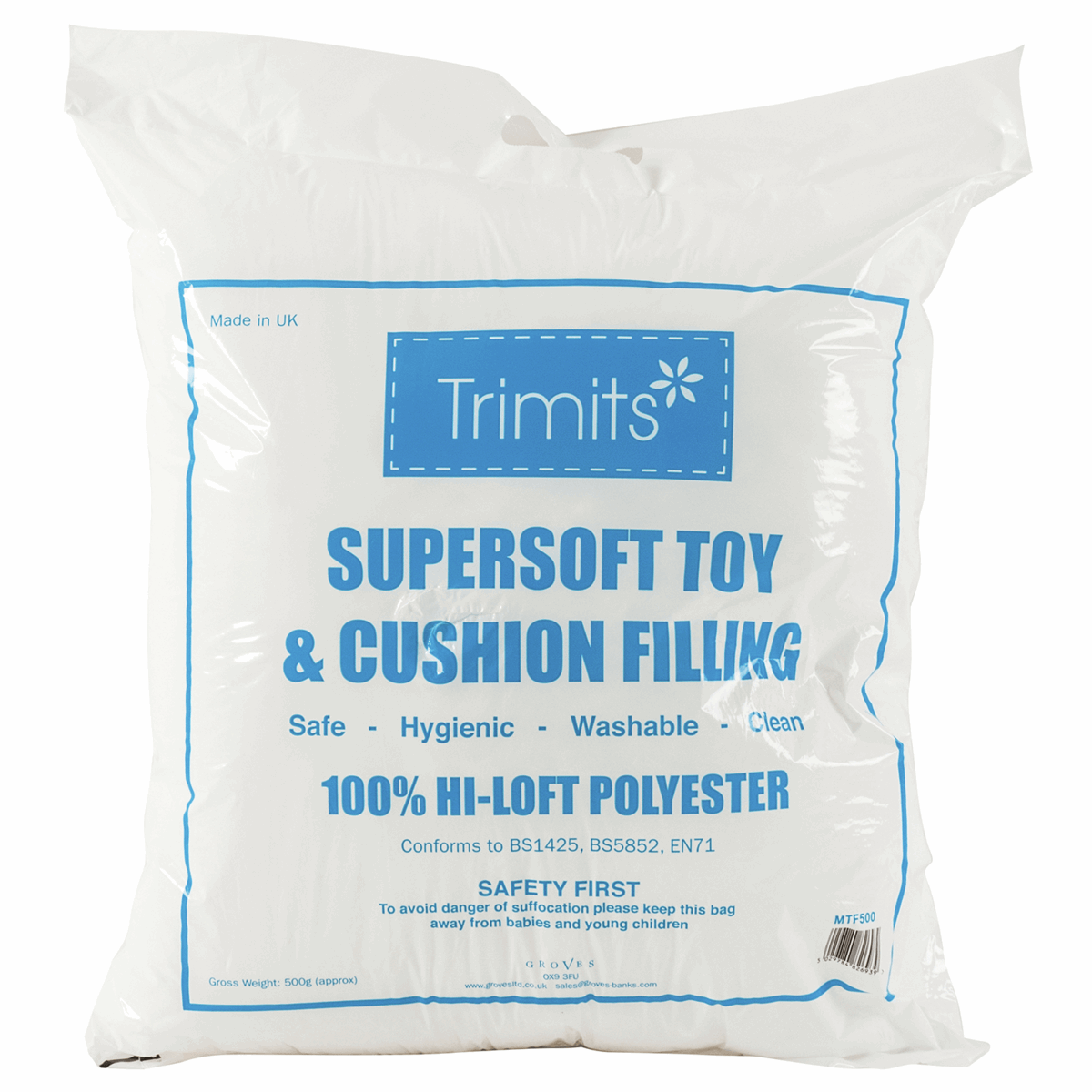 Picture of Toy Filling / Stuffing: 500gm