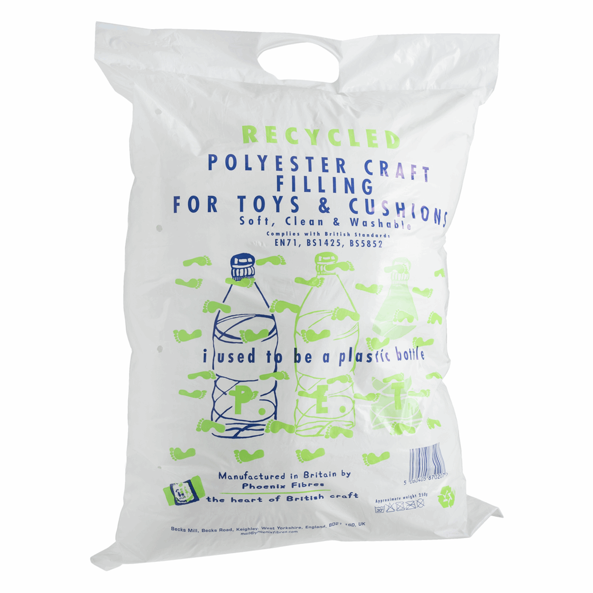 Picture of Toy Filling / Stuffing: Recycled: 250g: 15 Packs