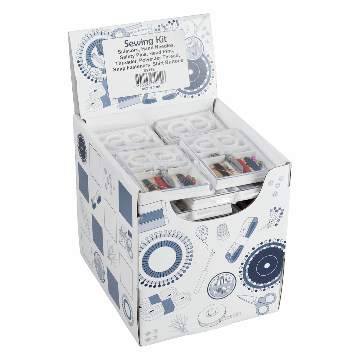 Picture of Counter Display Unit: Sewing Kits: 42 Pieces