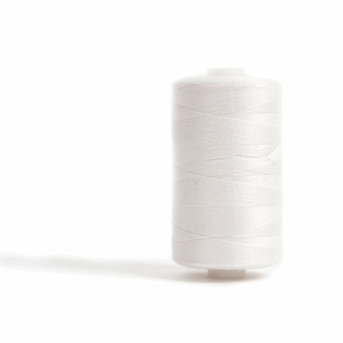 Picture of Sewing and Overlocking Thread: 5 x 1000m: Off White
