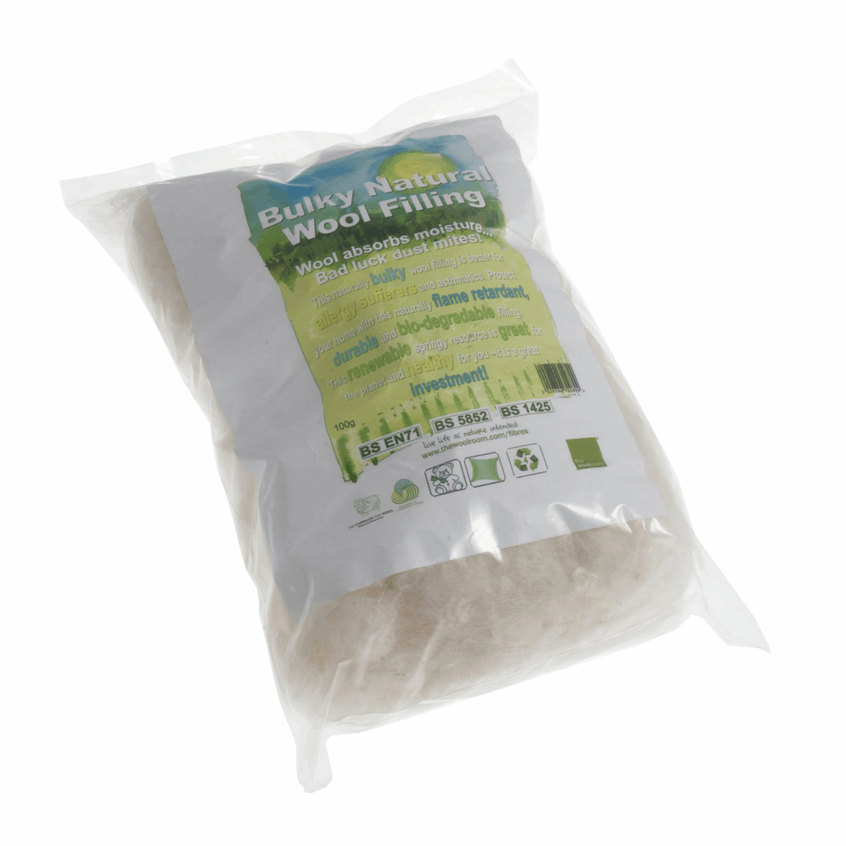 Picture of Natural Wool: Bulky Filling: 100g