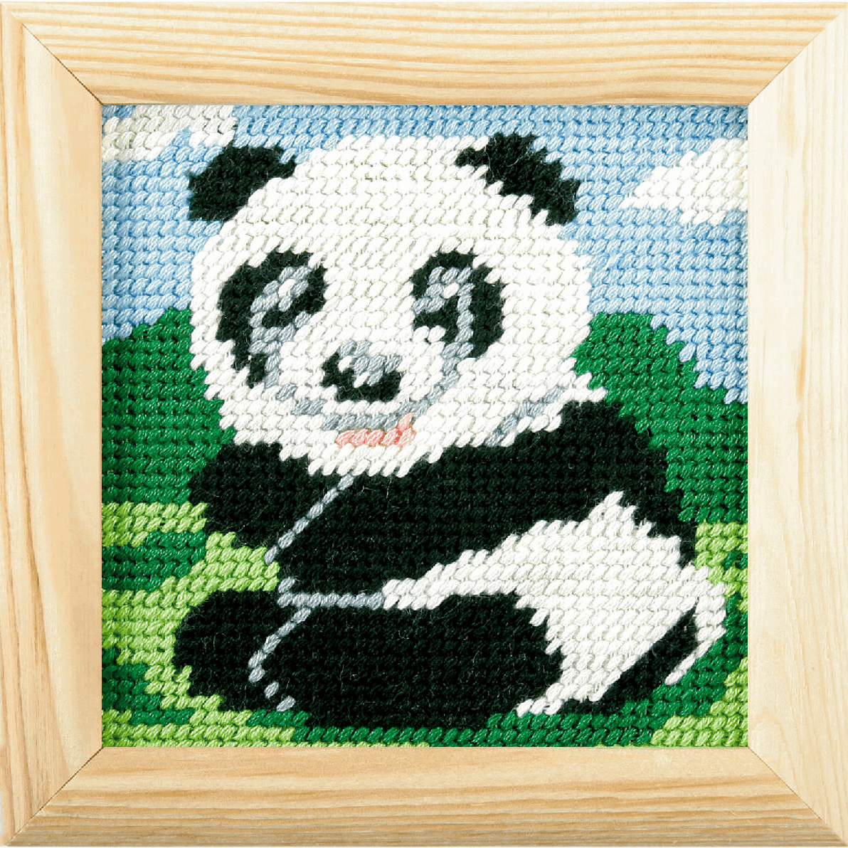 Picture of Needlepoint Kit: My First Embroidery: Panda