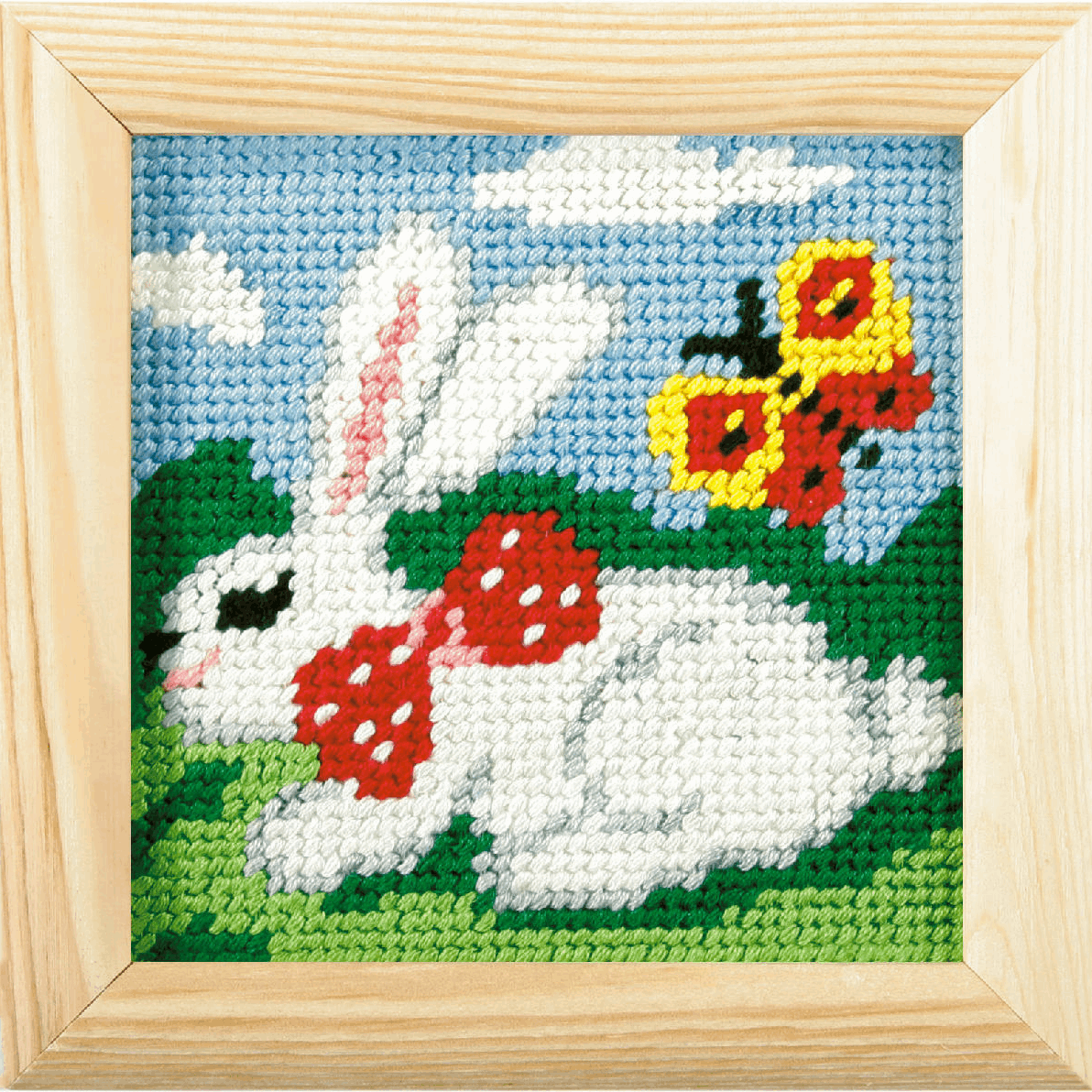 Picture of Needlepoint Kit: My First Embroidery: Rabbit