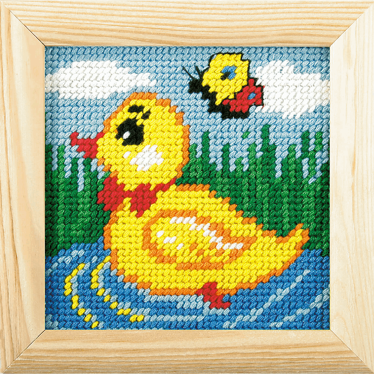 Picture of Needlepoint Kit: My First Embroidery: Duckling