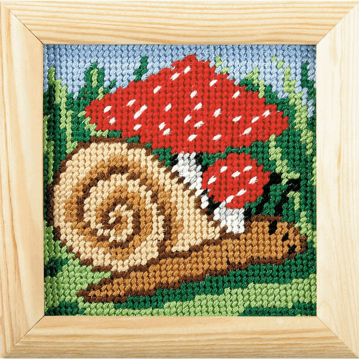 Picture of Needlepoint Kit: My First Embroidery: Snail