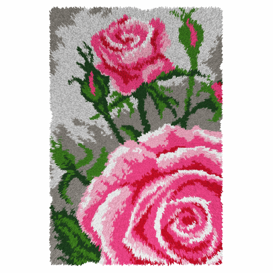 Picture of Latch Hook Kit: Rug: Roses