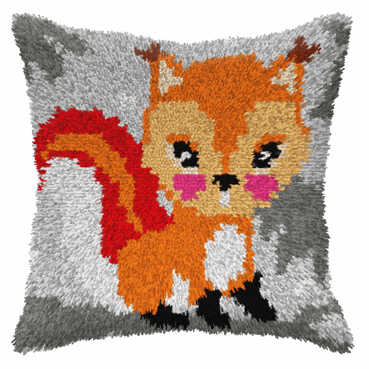 Picture of Latch Hook Kit: Cushion: Small: Squirrel