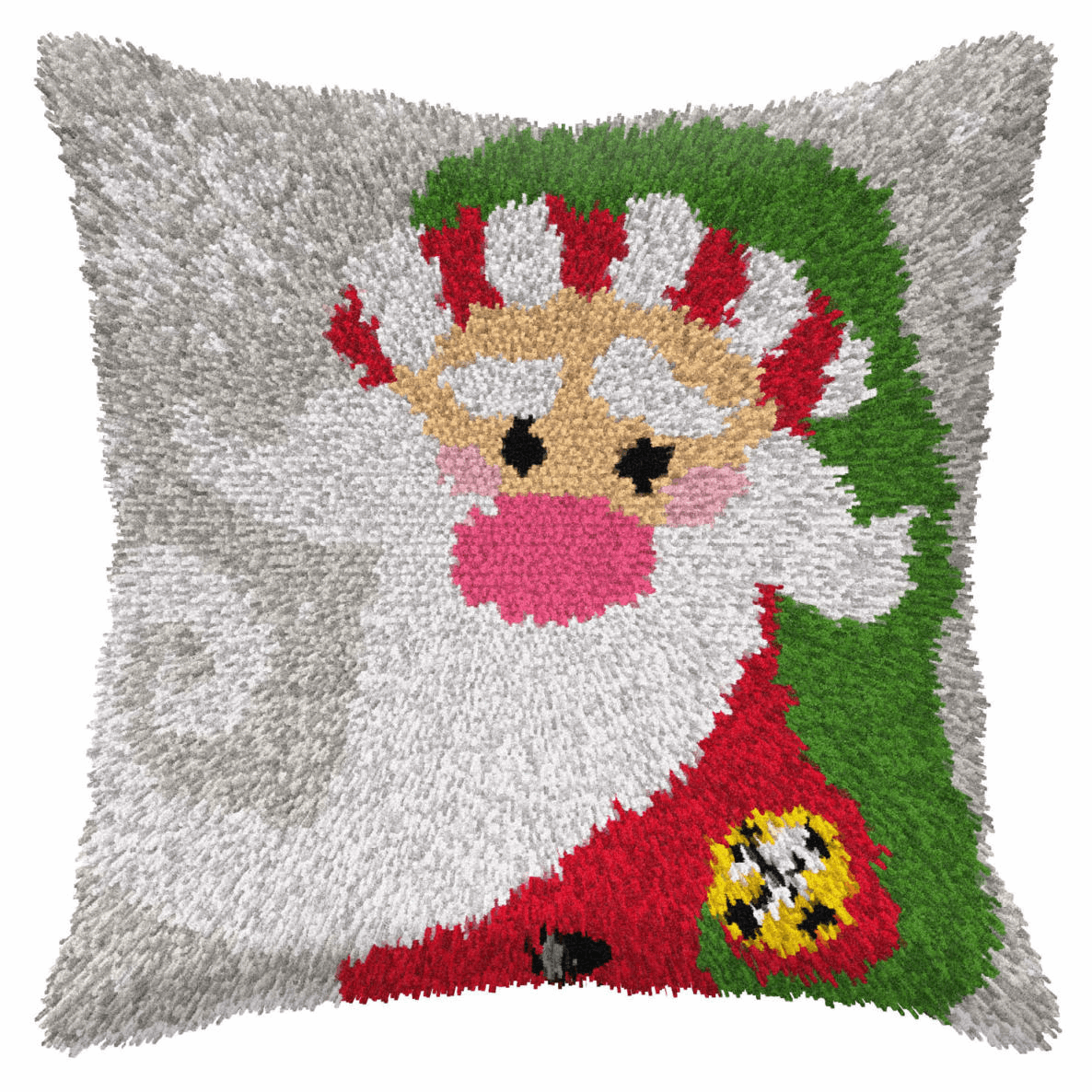 Picture of Latch Hook Kit: Cushion: Large: Santa Claus