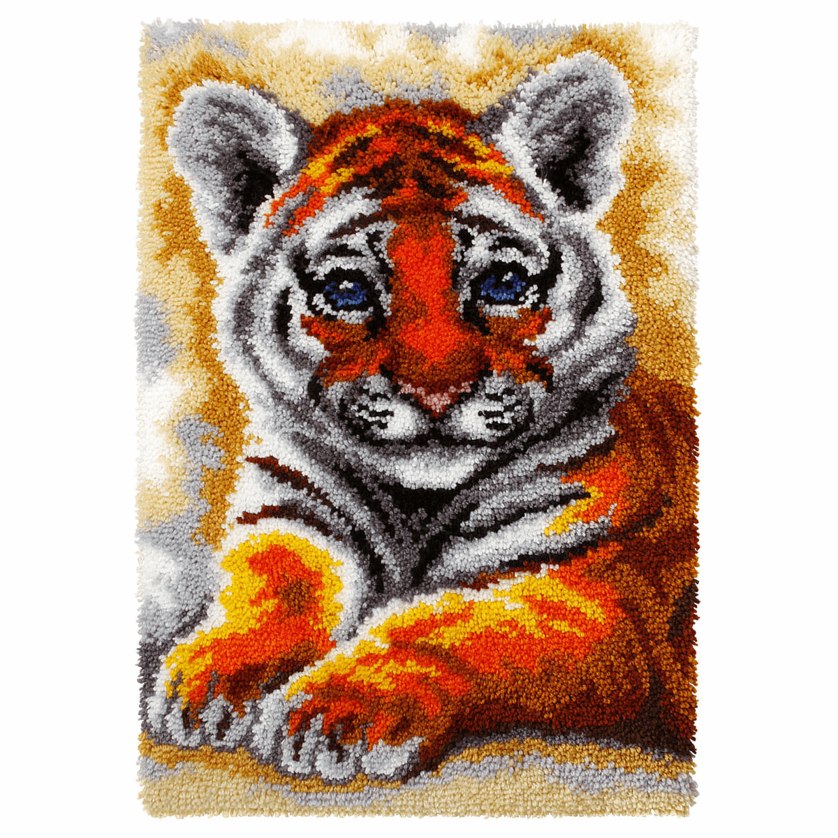 Picture of Latch Hook Kit: Rug: Young Tiger