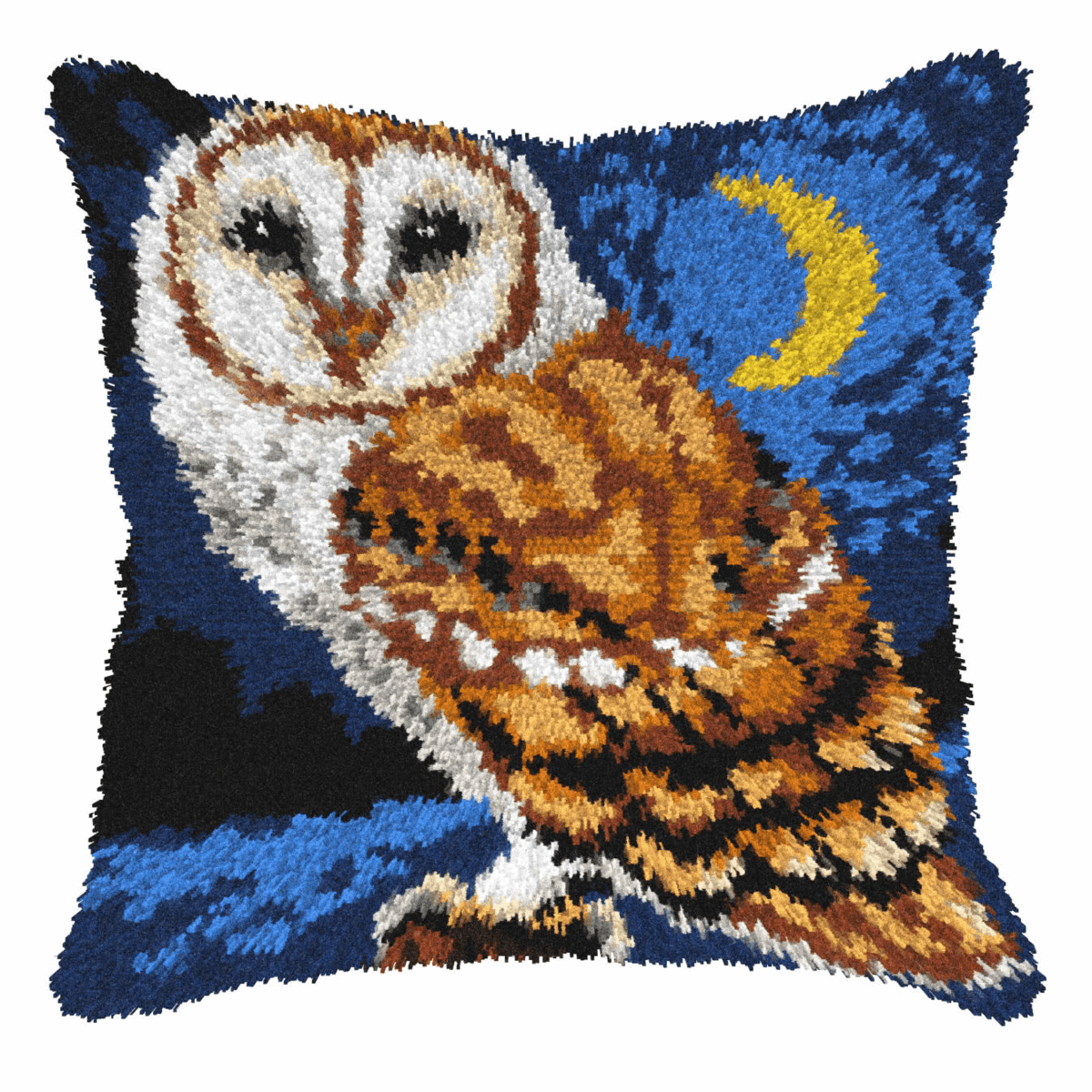 Picture of Latch Hook Kit: Cushion: Large: Owl at Night