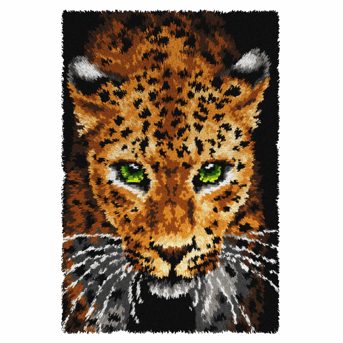 Picture of Latch Hook Kit: Rug: Leopard
