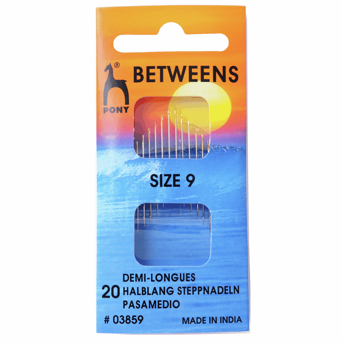 Picture of Hand Sewing Needles: Betweens: Gold Eye: Size 9